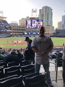 Richard attended San Diego Padres vs. Colorado Rockies - MLB on Apr 3rd 2018 via VetTix