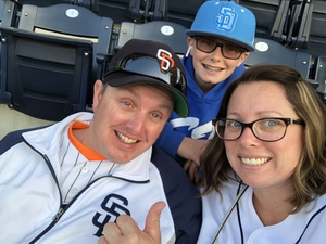 ronel attended San Diego Padres vs. Colorado Rockies - MLB on Apr 3rd 2018 via VetTix