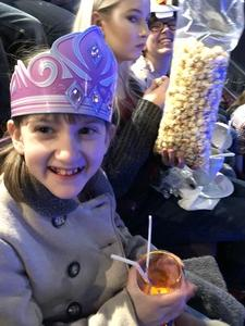 Sean attended Disney on Ice Frozen - Sunday Evening on Mar 25th 2018 via VetTix