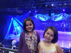 Amy attended Disney on Ice Frozen - Sunday Evening on Mar 25th 2018 via VetTix