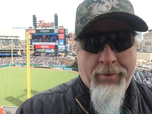 Brett attended Detroit Tigers vs. Pittsburgh Pirates - MLB - Opening Day on Mar 29th 2018 via VetTix