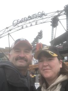 juli attended Detroit Tigers vs. Pittsburgh Pirates - MLB - Opening Day on Mar 29th 2018 via VetTix