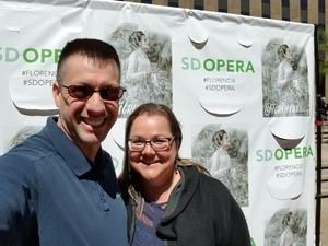 Robert attended Florencia En El Amazonas Performed by San Diego Opera on Mar 25th 2018 via VetTix