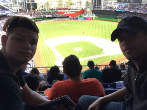 Emilio attended Miami Marlins vs. Chicago Cubs - MLB - Marlins Home Opener on Mar 29th 2018 via VetTix