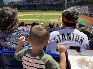 Erix attended Miami Marlins vs. Chicago Cubs - MLB - Marlins Home Opener on Mar 29th 2018 via VetTix
