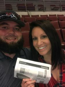 david attended Brad Paisley - Weekend Warrior World Tour With Dustin Lynch, Chase Bryant and Lindsay Ell on Apr 12th 2018 via VetTix