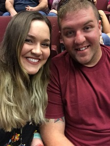 Travis attended Brad Paisley - Weekend Warrior World Tour With Dustin Lynch, Chase Bryant and Lindsay Ell on Apr 12th 2018 via VetTix