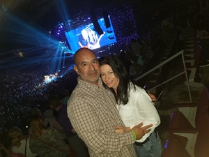 John A. attended Brad Paisley - Weekend Warrior World Tour With Dustin Lynch, Chase Bryant and Lindsay Ell on Apr 12th 2018 via VetTix
