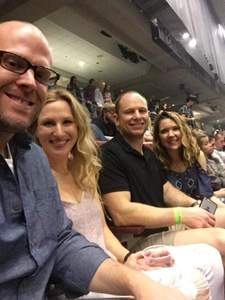 Aaron attended Brad Paisley - Weekend Warrior World Tour With Dustin Lynch, Chase Bryant and Lindsay Ell on Apr 12th 2018 via VetTix