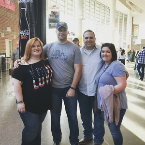 Michael attended Brad Paisley - Weekend Warrior World Tour With Dustin Lynch, Chase Bryant and Lindsay Ell on Apr 12th 2018 via VetTix