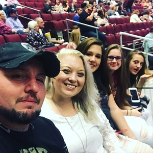 Tanner attended Brad Paisley - Weekend Warrior World Tour With Dustin Lynch, Chase Bryant and Lindsay Ell on Apr 12th 2018 via VetTix