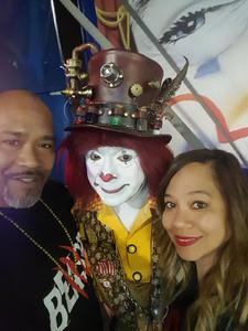 D Gordon attended Circus Vargus - Ontario Opening Night on Apr 5th 2018 via VetTix