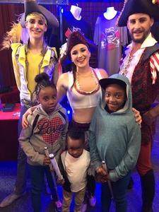 Monique attended Circus Vargus - Ontario Opening Night on Apr 5th 2018 via VetTix
