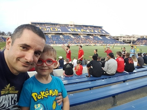 Michael attended DC United vs. Columbus Crew SC - MLS on Apr 14th 2018 via VetTix