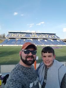 John attended DC United vs. Columbus Crew SC - MLS on Apr 14th 2018 via VetTix
