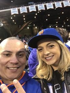 Raynard attended New York Mets vs. Washington Nationals - MLB on Apr 18th 2018 via VetTix