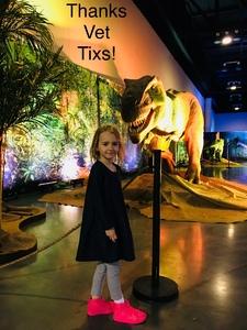 Ryan attended Discover the Dinosaurs - Time Trek - Presented by Vstar Entertainment on Apr 22nd 2018 via VetTix
