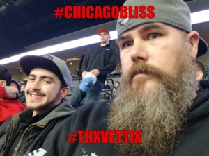 Matthew attended Chicago Bliss vs. Los Angeles Temptation - Legends Football League - Women of the Gridiron on Apr 14th 2018 via VetTix