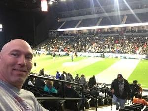 Jeffrey attended Chicago Bliss vs. Los Angeles Temptation - Legends Football League - Women of the Gridiron on Apr 14th 2018 via VetTix