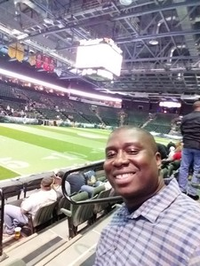 Bobby attended Denver Dream vs. Omaha Heart - Legends Football League - Women of the Gridiron on Apr 27th 2018 via VetTix