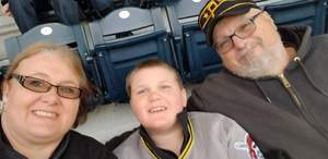 jackie attended Pittsburgh Pirates vs. Cincinnati Reds - MLB on Apr 6th 2018 via VetTix