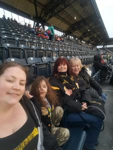 Susan attended Pittsburgh Pirates vs. Cincinnati Reds - MLB on Apr 6th 2018 via VetTix