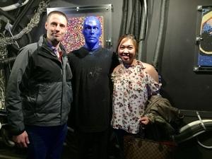 Dustin attended Blue Man Group on Apr 15th 2018 via VetTix