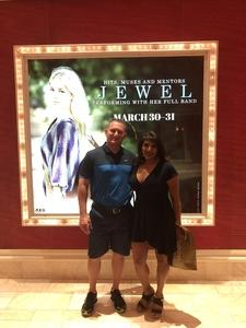 Tracy attended Jewel: Hits, Muses and Mentors on Mar 30th 2018 via VetTix