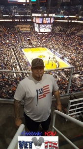 RIC attended Phoenix Suns vs. Sacramento Kings - NBA on Apr 3rd 2018 via VetTix