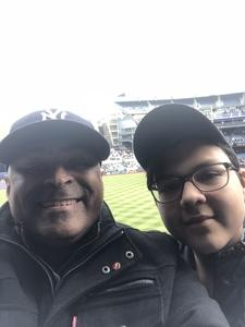 Victor attended New York Yankees vs. Baltimore Orioles - MLB on Apr 7th 2018 via VetTix