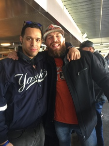 Modesto attended New York Yankees vs. Baltimore Orioles - MLB on Apr 7th 2018 via VetTix