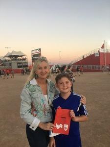 Kristina attended Phoenix Rising FC vs. Real Monarchs SLC - USL on Apr 7th 2018 via VetTix
