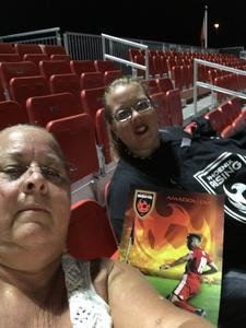 Gregory attended Phoenix Rising FC vs. Real Monarchs SLC - USL on Apr 7th 2018 via VetTix