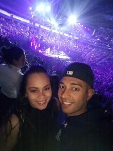 Ant attended Bon Jovi - This House is not for Sale Tour - Sunday Night on Apr 8th 2018 via VetTix
