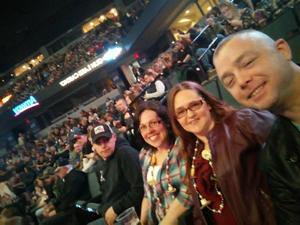 Miles attended Brad Paisley - Weekend Warrior World Tour With Dustin Lynch, Chase Bryant and Lindsay Ell on Apr 7th 2018 via VetTix