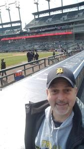Terry Smith attended Detroit Tigers vs. Baltimore Orioles - MLB on Apr 18th 2018 via VetTix