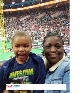 Juanita attended Philadelphia Soul vs. Baltimore Brigade - IFL on Apr 21st 2018 via VetTix