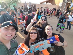 eric attended Zedtown - Survivors vs. Zombies - Bring Your Own Nerf Gun -18 and Over - Select Faction at Check in on Apr 21st 2018 via VetTix