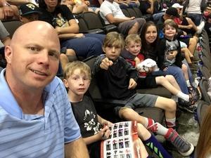 David attended Jacksonville Sharks vs. Maine Mammoths - AFL on May 19th 2018 via VetTix