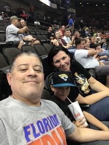 Stro attended Jacksonville Sharks vs. Maine Mammoths - AFL on May 19th 2018 via VetTix