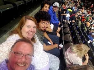 denise attended Jacksonville Sharks vs. Maine Mammoths - AFL on May 19th 2018 via VetTix
