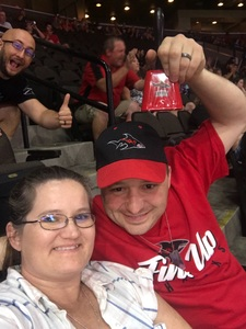 Mark attended Jacksonville Sharks vs. Columbus Lions - AFL on Jul 21st 2018 via VetTix