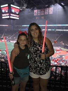 Alex attended Jacksonville Sharks vs. Columbus Lions - AFL on Jul 21st 2018 via VetTix