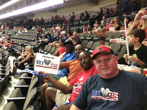 Scott attended Jacksonville Sharks vs. Columbus Lions - AFL on Jul 21st 2018 via VetTix