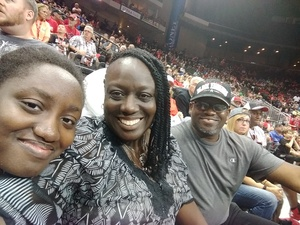LaJuana attended Jacksonville Sharks vs. Columbus Lions - AFL on Jul 21st 2018 via VetTix