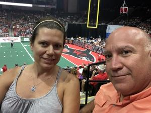 Daniel attended Jacksonville Sharks vs. Columbus Lions - AFL on Jul 21st 2018 via VetTix