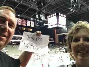 Joseph attended Jacksonville Sharks vs. Columbus Lions - AFL on Jul 21st 2018 via VetTix