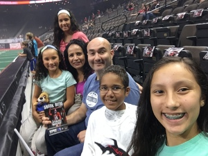 Jaime attended Jacksonville Sharks vs. Columbus Lions - AFL on Jul 21st 2018 via VetTix
