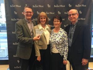 Kirk attended Ballet West - the Shakespeare Suite on Apr 21st 2018 via VetTix