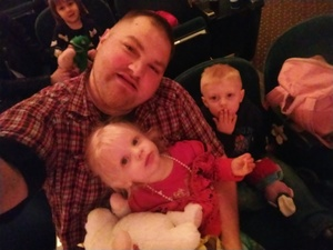 kristofer attended Peppa Pig Live - Surprise on Apr 10th 2018 via VetTix